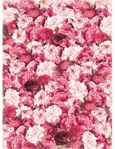 "Рисовая бумага CP00416 ""Ковер из роз"", 28,2х38,4 см, Craft Premier (Россия)"
