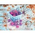"""Рисовая бумага CP00546 """"Вишневое лакомство"""", 28,2х38,4см, Craft Premier (Россия)"""