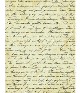 """Рисовая бумага CP00591 """"Старинная рукопись"""", 28,2х38,4см, Craft Premier (Россия)"""