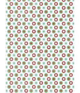 """Рисовая бумага CP00614 """"Горошек"""", 28,2х38,4см, Craft Premier (Россия)"""