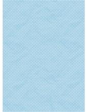 """Рисовая бумага CP01518 """"Белый горох на голубом фоне"""", 28,2х38,4 см, Craft Premier (Россия)"""