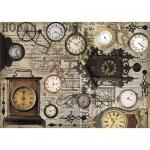 "Рисовая бумага CP04532 ""Винтажные часы"", 28,2х38,4см, Craft Premier (Россия)"