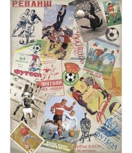 """Рисовая бумага """"Футбол"""", 28,2х38,4 см, Craft Premier (Россия)"""