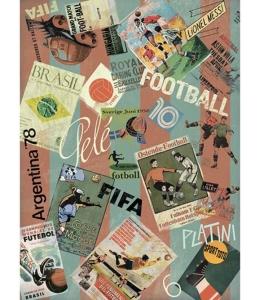 """Рисовая бумага """"Футбол"""" 21×29,7 см, Craft Premier (Россия)"""