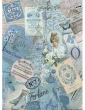 """Рисовая бумага CP06223 """"Дорогие воспоминания"""", 28,2х38,4см, Craft Premier (Россия)"""