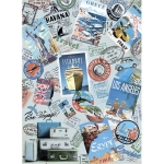 "Рисовая бумага CP06490 ""Счастливого пути"", 28,2х38,4 см, Craft Premier (Россия)"