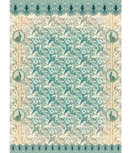 """Рисовая бумага """"Гобелен с павлинами"""", 21x29,7см Craft Premier"""