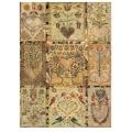"""Рисовая бумага CPD0525 """"Винтажные сердечки"""", 28,2х38,4 см, Craft Premier (Россия)"""