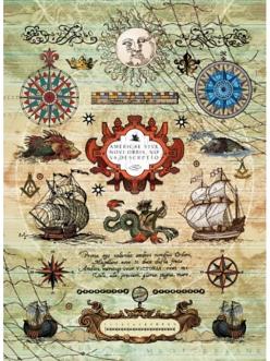 Рисовая бумага для декупажа Морское путешествие,21x29,7см Craft Premier