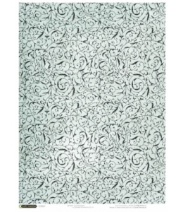 "Рисовая бумага CPD0681 ""Узоры"", 28,2х38,4 см, Craft Premier (Россия)"