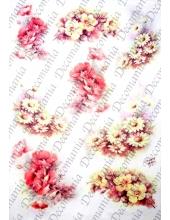 "Рисовая бумага Decomania AM7704 ""Маки"" (серия Sonie Ames), 35х50 см"