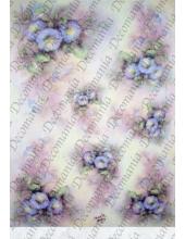 """Рисовая бумага Decomania AM7709 """"Вьюнок"""" (серия Sonie Ames), 35х50 см"""