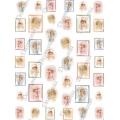 "Рисовая бумага Decomania мини, LMD 7050 ""Девочки"", 24х34 см"