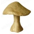 Заготовка фигурка из папье-маше Грибочек малый, 9,8х8,7х3,6 см, Decopatch (Франция)