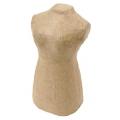 Заготовка фигурка из папье-маше Манекен, 5,7х6,5х11 см, Decopatch (Франция)