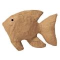 Заготовка фигурка из папье-маше Рыбка, 3х10,5х7 см, Decopatch (Франция)