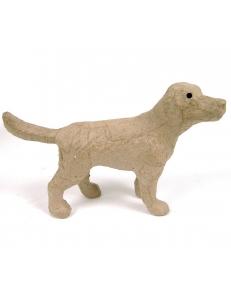 Заготовка фигурка из папье-маше Собака, 14,5х9,5х4,5 см, Decopatch (Франция)