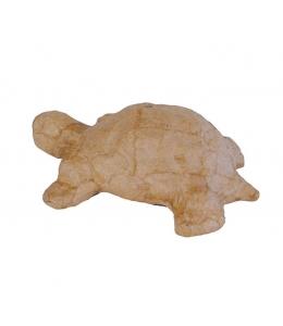 Заготовка фигурка из папье-маше Черепаха, 11х6,5х6 см, Decopatch (Франция)