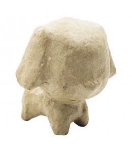 Заготовка фигурка из папье-маше Щенок, 6х5,5х6 см, Decopatch (Франция)