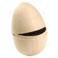 Заготовка фигурка из папье-маше Яйцо разъемное, 9х9х13 см, Decopatch (Франция)