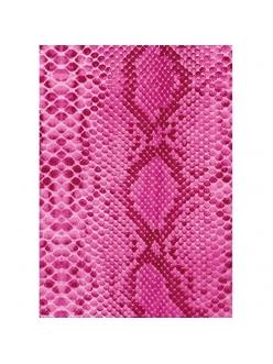 Бумага для декопатч Розовый питон, Decopatch 210, 30х40 см