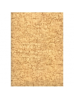 Бумага для декопатч Бежевая мятая, Decopatch 334 , 30х40 см