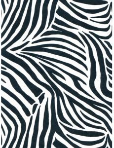 """Бумага для декопатч """"Зебра черно-белая"""",  Decopatch (Франция), 30х40 см"""