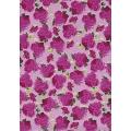 """Бумага для декопатч 455 """"Розы на розовом"""", Decopatch (Франция), 30х40 см"""