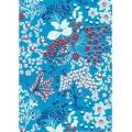 """Бумага для декопатч """"Веточки на голубом"""", Decopatch (Франция), 30х40 см"""