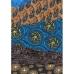 Бумага для декопатч Полосы с этническим орнаментом, Decopatch, 30х40 см