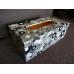 """Бумага для декопатч 555 """"Кружочки черно-белые"""",  Decopatch (Франция), 30х40 см"""
