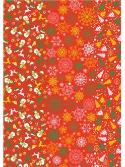 Бумага для декопатч Рождество, Decopatch, 30х40 см