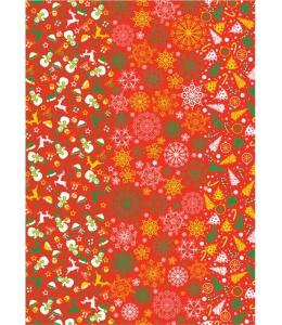 """Бумага для декопатч """"Рождество"""", Decopatch (Франция), 30х40 см"""