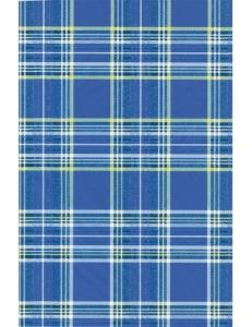 """Бумага для декопатч """"Клетка-шотландка синий"""", Decopatch (Франция), 30х40 см"""