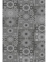 """Бумага для декопатч 632 """"Черно-белый орнамент"""",  Decopatch (Франция), 30х40 см"""
