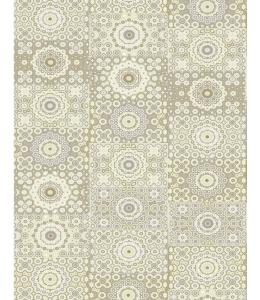 """Бумага для декопатч """"Бледно-желтый орнамент"""", Decopatch (Франция), 30х40 см"""
