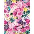 """Бумага для декопатч 639 """"Цветы и драгоценности"""", Decopatch (Франция), 30х40 см"""