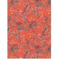 """Бумага для декопатч """"Японский сад, красный"""", Decopatch (Франция), 30х40 см"""