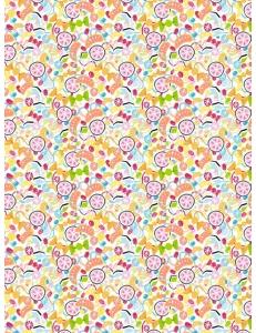 """Бумага для декопатч """"Детский коктейль"""", Decopatch (Франция), 30х40 см"""