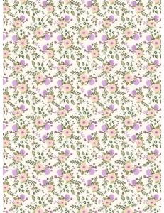 """Бумага для декопатч """"Цветы вьюнка"""", Decopatch (Франция), 30х40 см"""