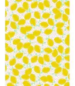 """Бумага для декопатч """"Лимончики"""", Decopatch (Франция), 30х40 см"""