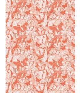 """Бумага для декопатч """"Бабочки на красном"""", Decopatch (Франция), 30х40 см"""