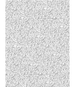 """Бумага для декопатч """"Рукописный текст"""", Decopatch (Франция), 30х40 см"""