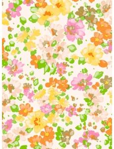 """Бумага для декопатч """"Акварельные цветы"""", Decopatch (Франция), 30х40 см"""