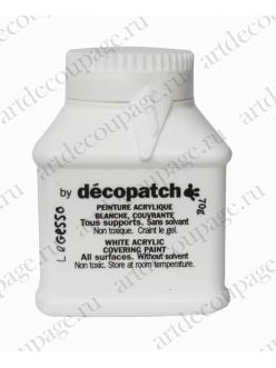 Грунт акриловый для декупажа и декопатча Decopatch Gesso, 70 гр