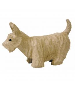 Заготовка фигурка из папье-маше Скотч-терьер, 8х14,5х23 см, Decopatch (Франция)