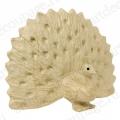 Заготовка фигурка из папье-маше Павлин, 12,5х19х24 см, Decopatch (Франция)