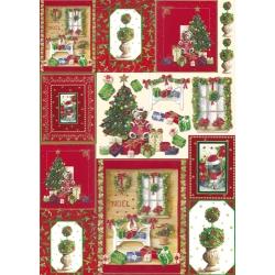 Декупажные и переводные карты, рождественские и новогодние