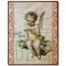 """Декупажная карта Stamperia DFG395 """"Старые открытки с ангелочками"""", 50х70 см"""