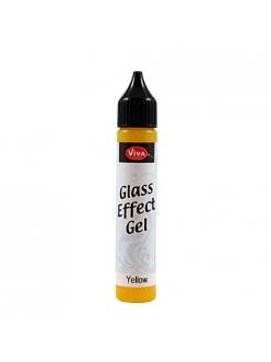 Гель с эффектом стекла Viva Glaseffekt Gel, цвет 200 желтый, 25 мл